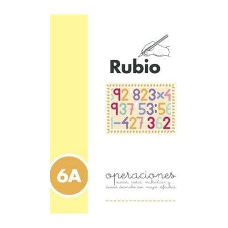 PROBLEMAS RUBIO OPERACIONES 6A